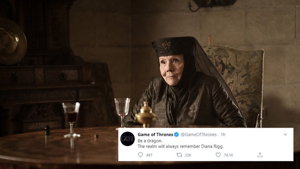 Tweet de Game of Thrones