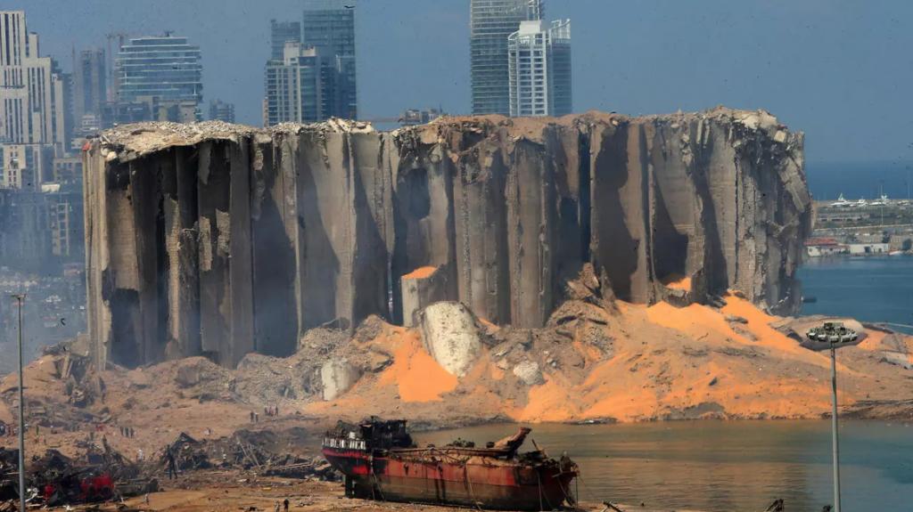 La plus grande explosion dans l'histoire du Liban