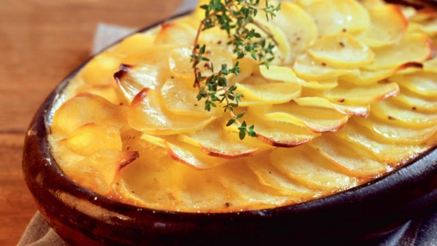 Cuisine française: Gratin dauphinois