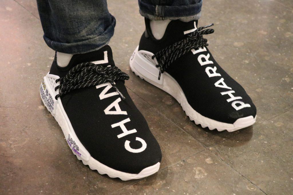 Adidas x Pharrell x Chanel : Sneakers du moment