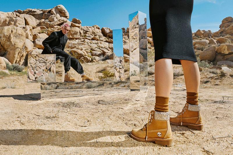 Jimmy Choo ajoute une dose de luxe aux boots iconiques de Timberland