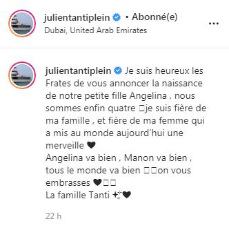 message sur instagram