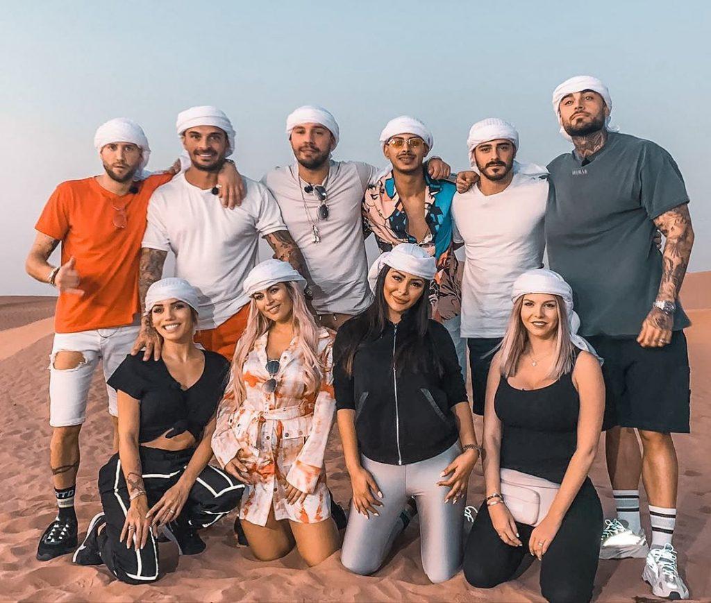 La famille des Marseillais