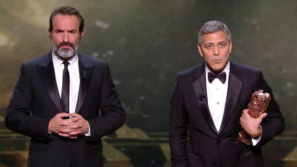 Avec George Clooney