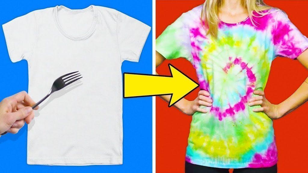 Transformer un t-shirt en tie and dye