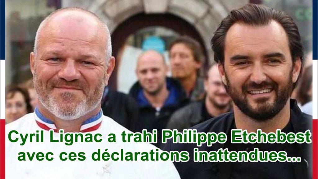 Philippe Etchebest Trahi, Cyril Lignac satisfait