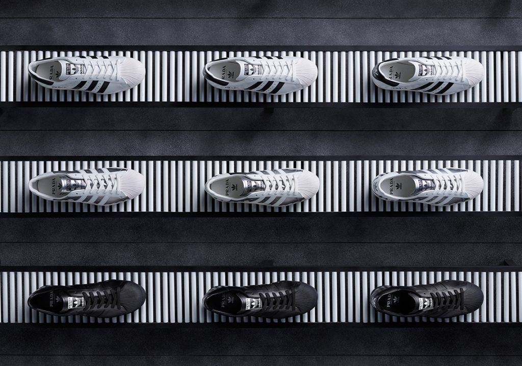 La 2e collaboration entre Prada et Adidas