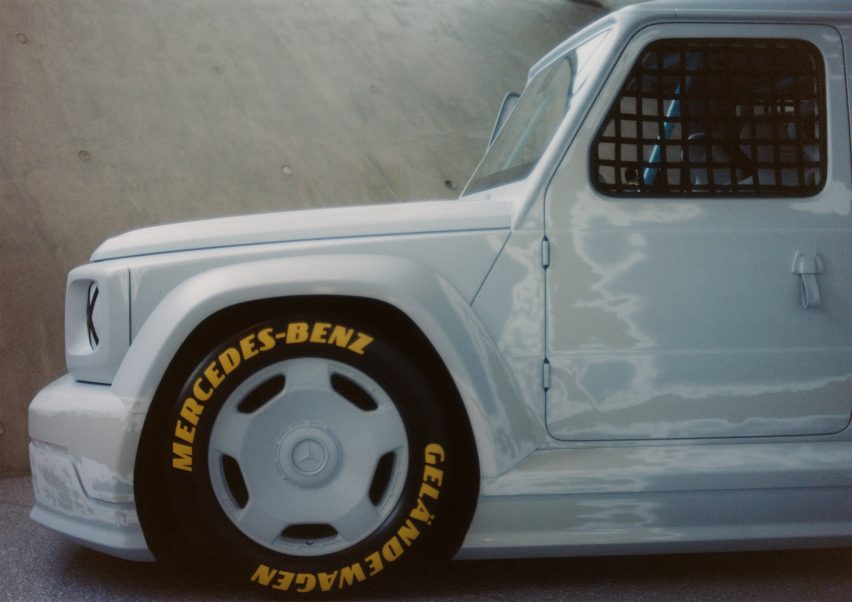 Mercedes Benz, une création unique