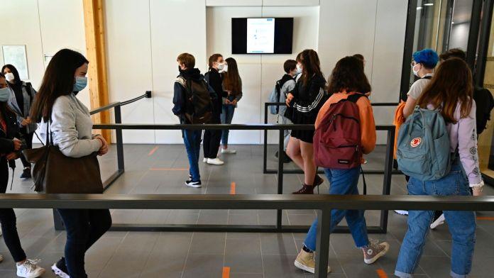 Etablissements scolaires fermés en France