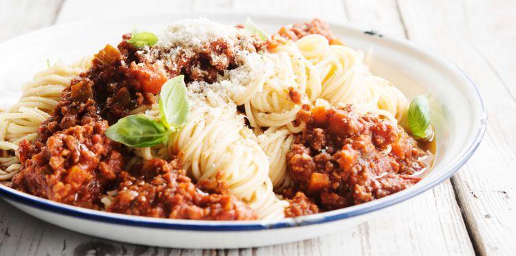 spaghettis bolognaises vegan