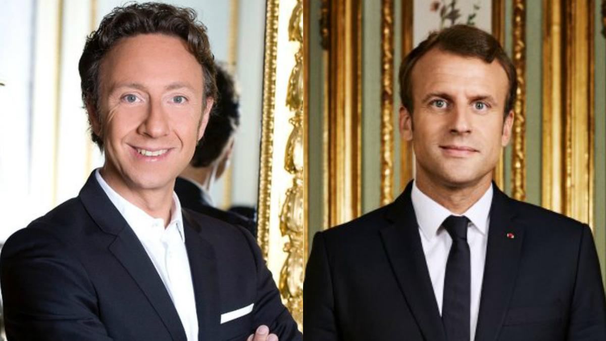 Stéphane Bern Emmanuel Macron
