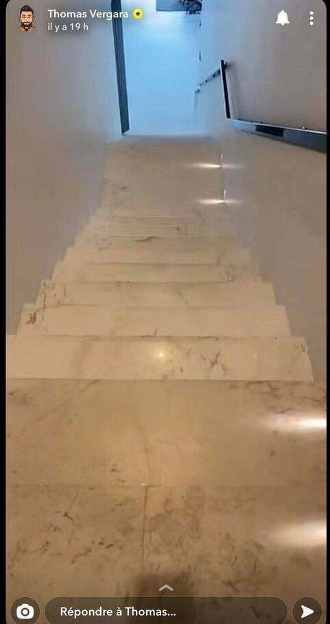 Les escaliers de la maison de Vergara