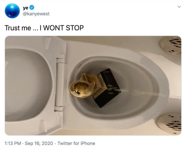 Tweet de Kanye West