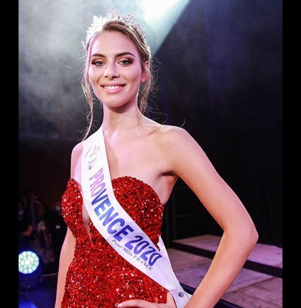 April Benayoum pour l'élection Miss France 2021