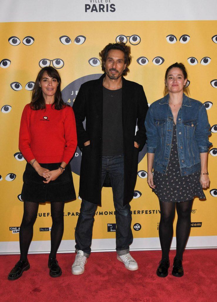 Bérénice Béjo entourée de Marie Gillain et Vincent Elbaz