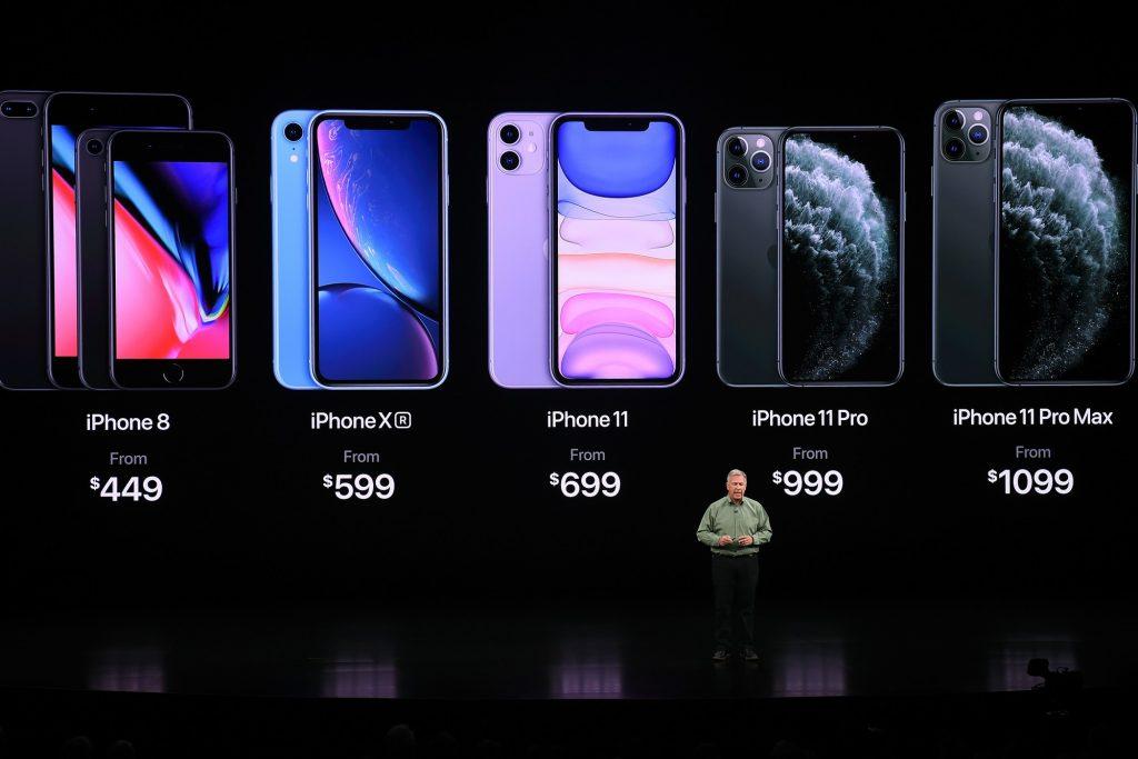 Nouveaux prix chez Apple