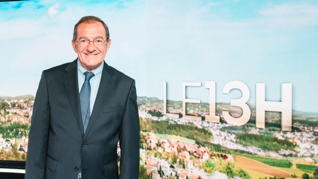 Jean-Pierre Pernaut : Habituée à TF1