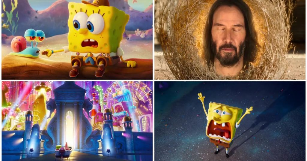 Bob l'éponge et Keanu Reeves