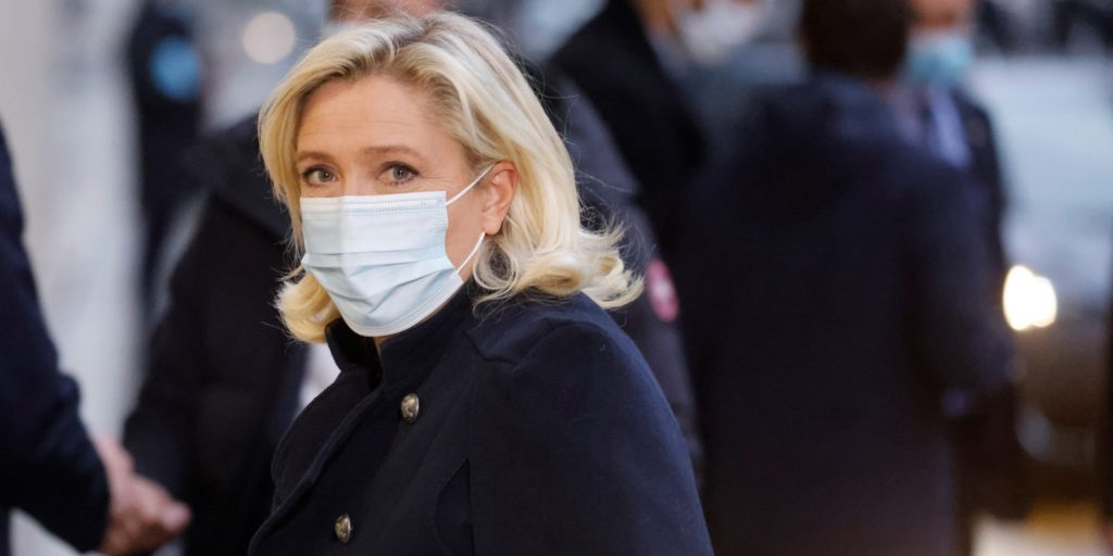 Marine Le Pen prend la parole !