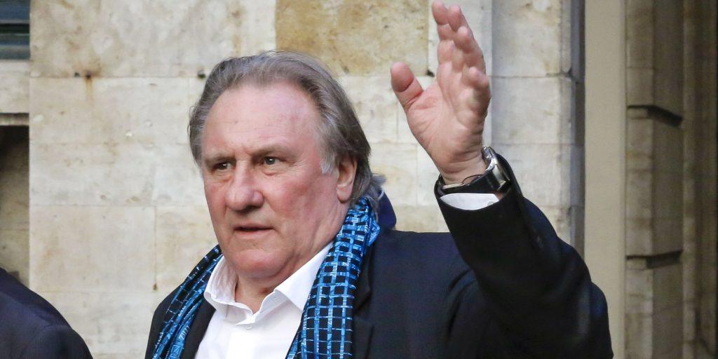 Gérard Depardieu se faisait arrêter par la police