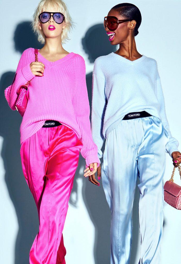 Fashion Week:  la tendance Barbie Pink Lipstick Trend chez Tom Ford