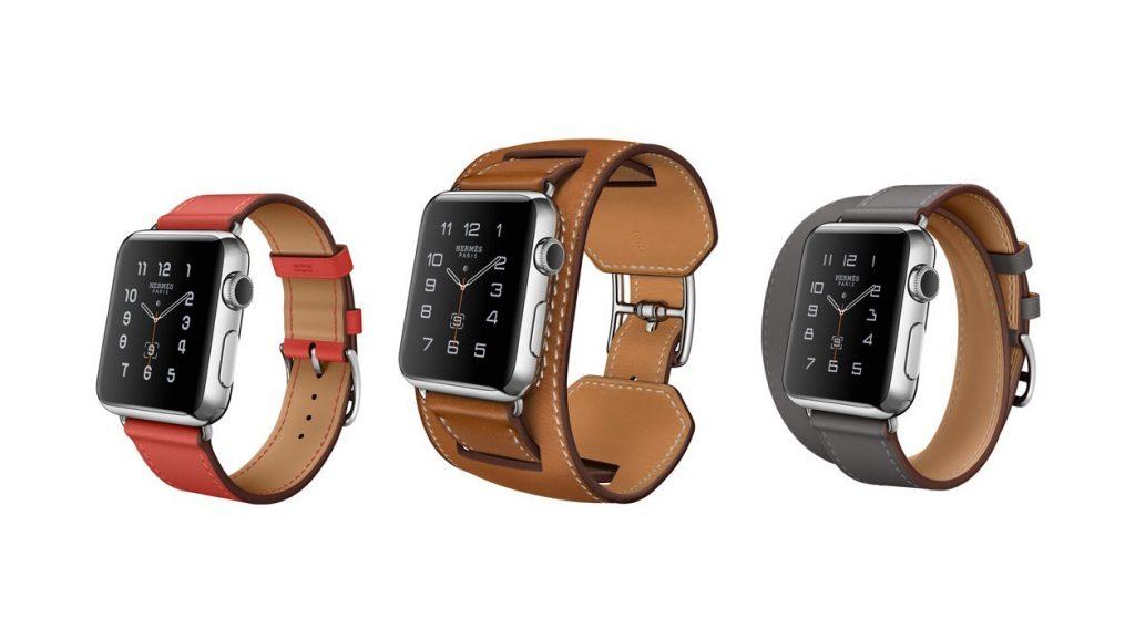 Une montre connectée luxueuse