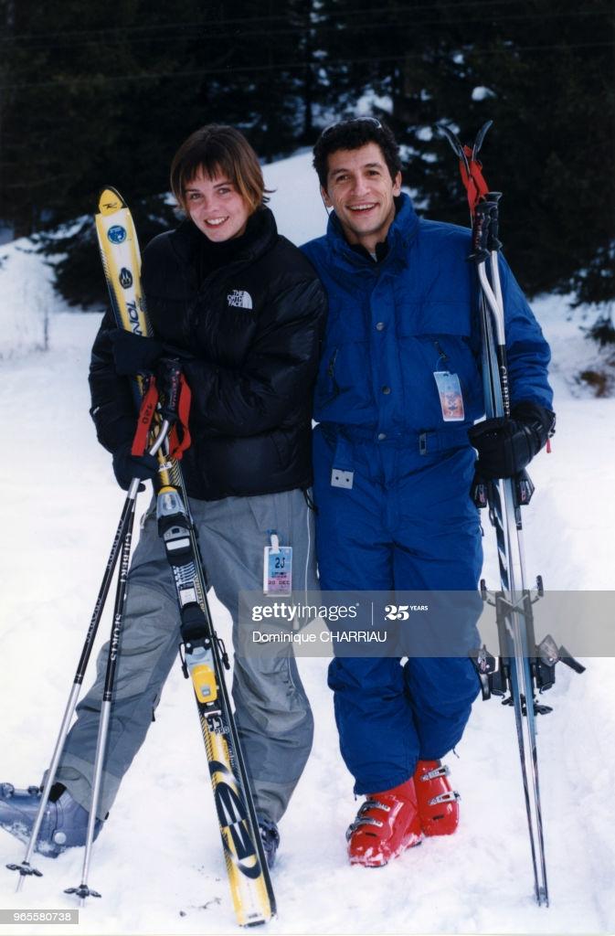 Nagui au ski