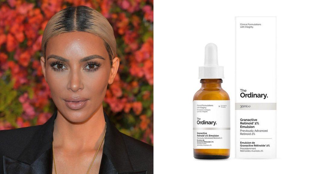 Kim Kardashian et The Ordinary