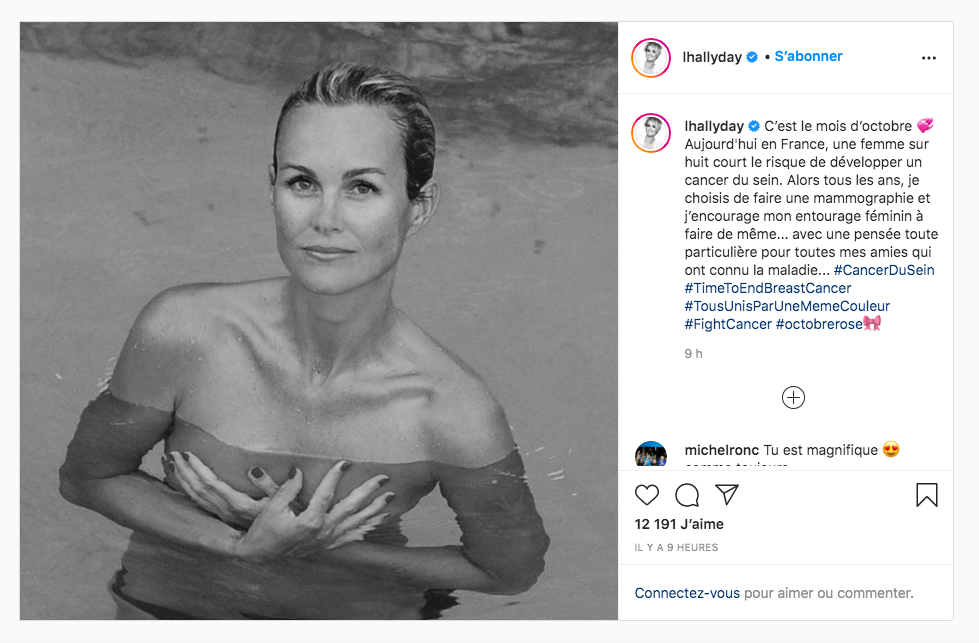 Laeticia Hallyday topless !