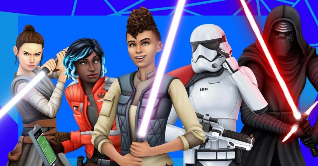 Sims 4 X Star Wars
