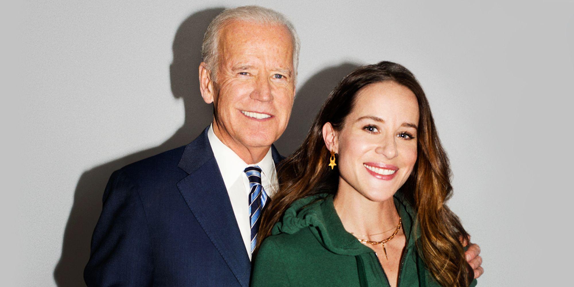 Ashley Biden et Joe Biden