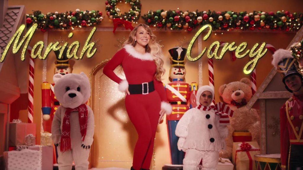 La star en vidéo pour Noël