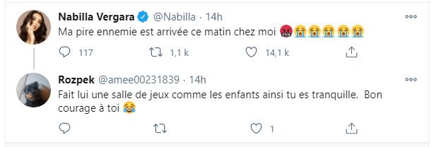 Les liens sont tendus entre Nabilla est la nouvelle arrivante