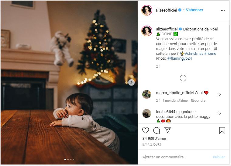 Alizée : Les festivités avant l'heure