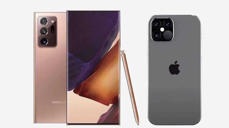 Smartphones haut de gamme