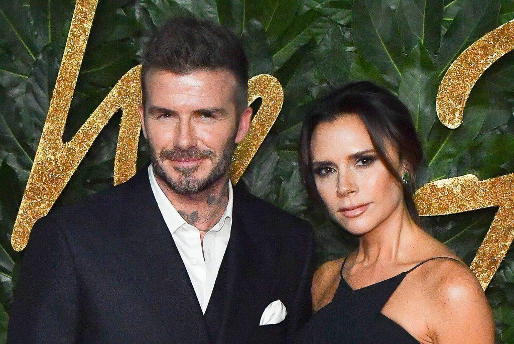 David Beckham et son épouse Victoria