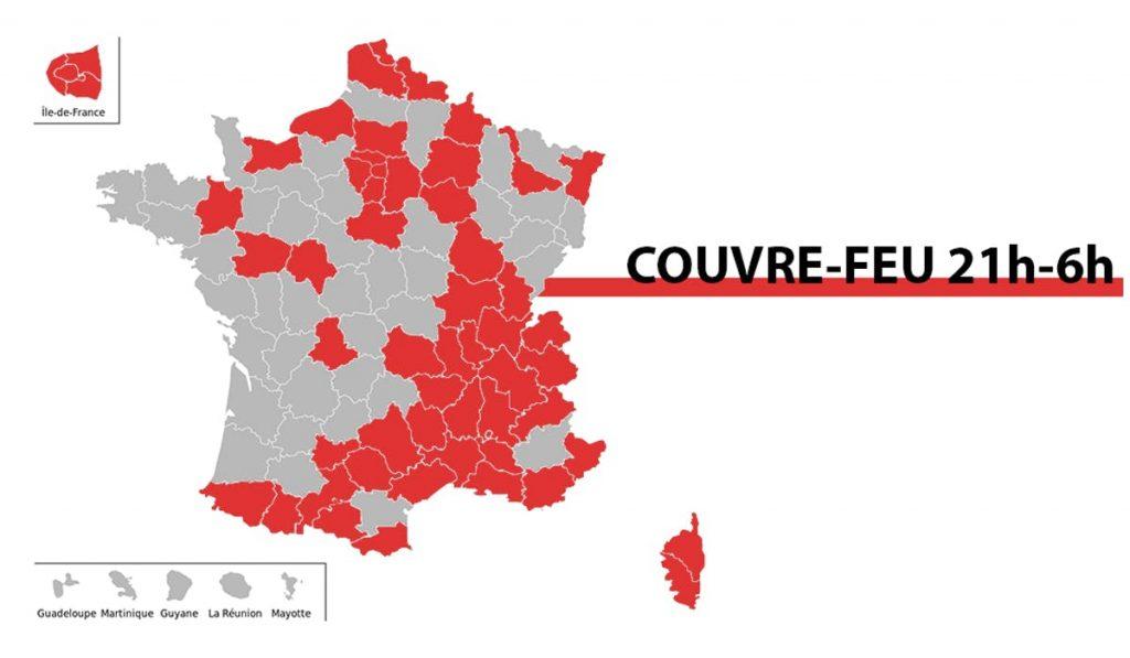 Couvre-Feu en France
