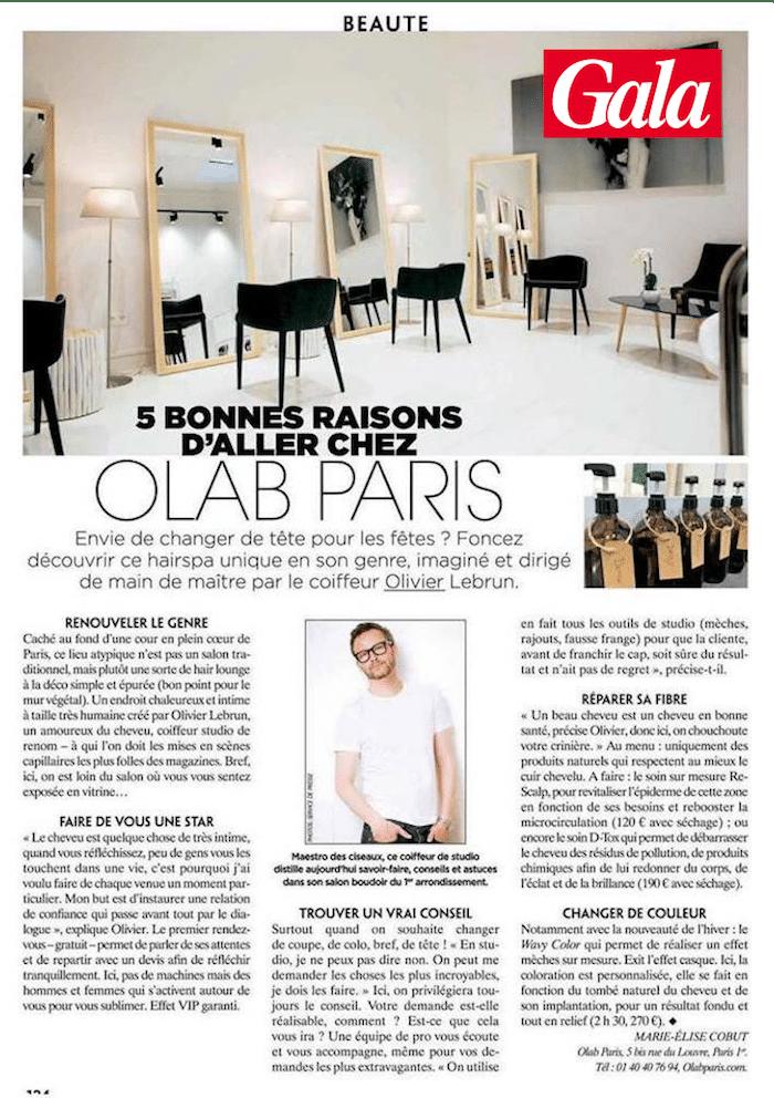 Olivier LeBrun, OLAB Paris