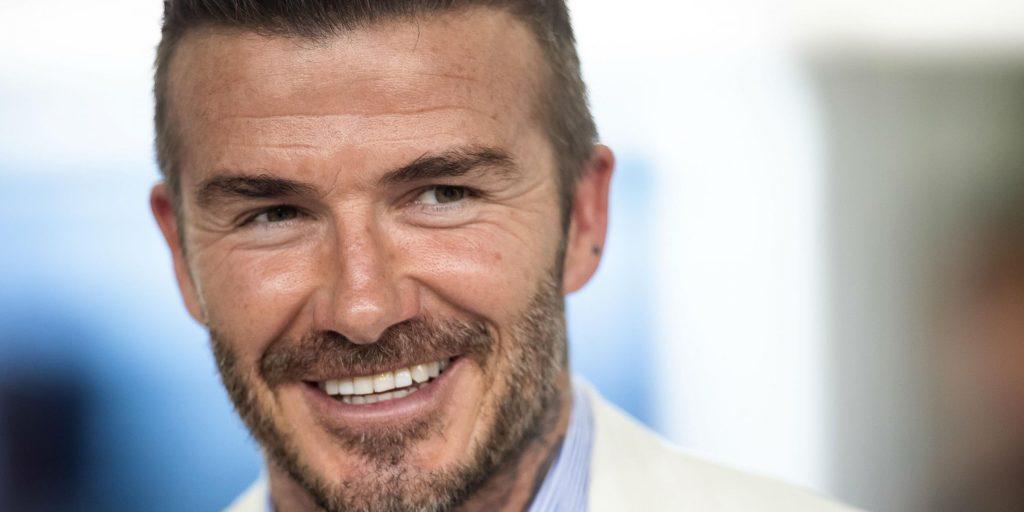 La carrière de David Beckham sur Netflix