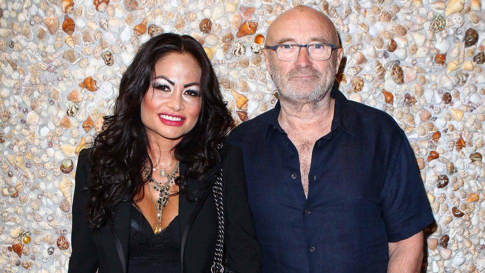Orianne et Phil Collins