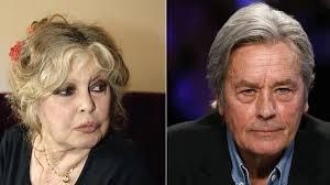 Brigitte Bardot et Alain Delon