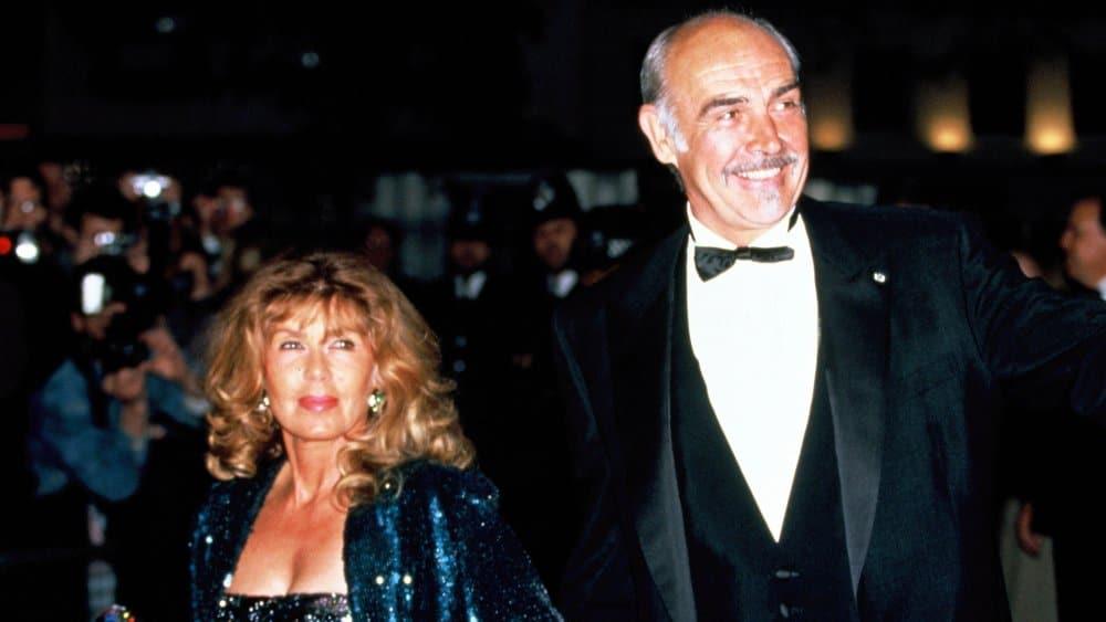 Sean Connery et sa femme