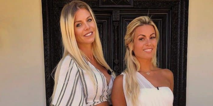 Carla Moreau et Jessica Thivenin