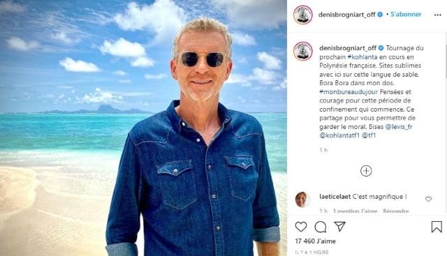 Denis Brogniart prépare Koh-Lanta 2021