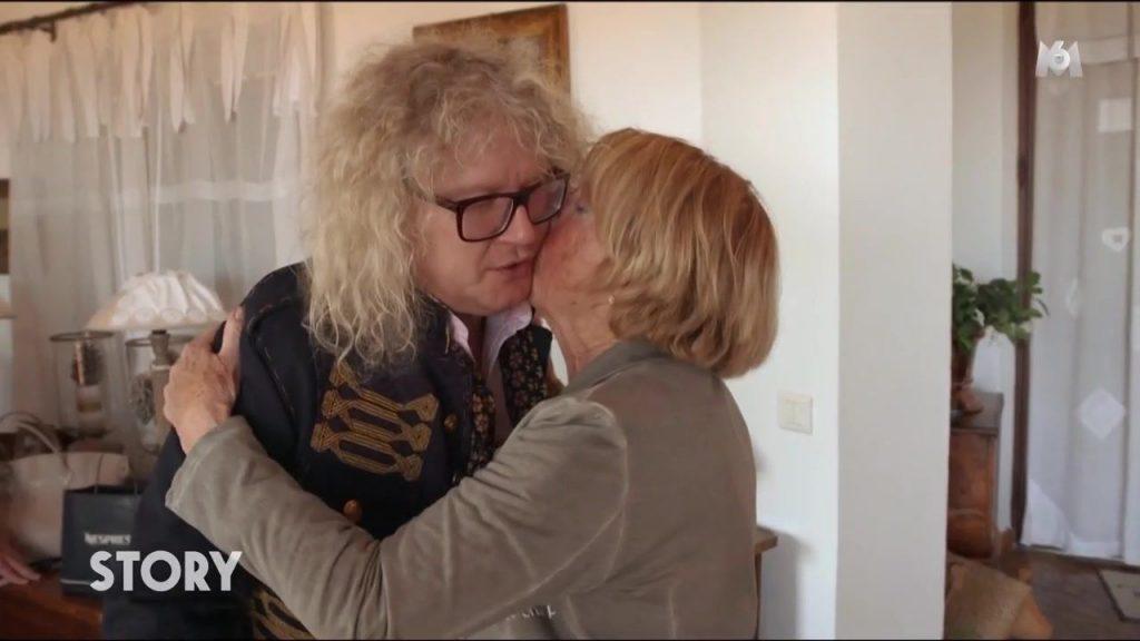 Pierre-Jean Chalençon avec sa maman