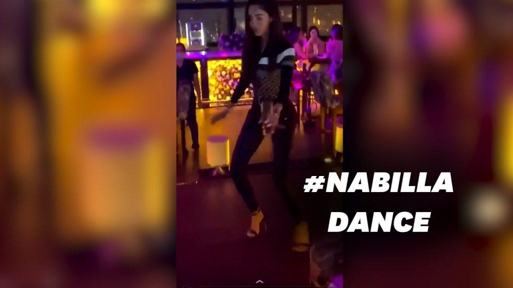 Nabilla : Une danse de soirée délicate !