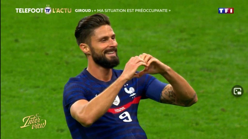 Olivier Giroud est devenu papa pour la 4ème fois : prénom révélés