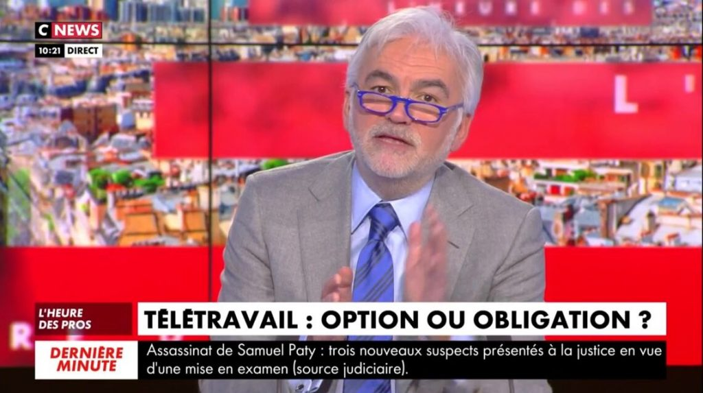 Pascal Praud : Très embarrassé