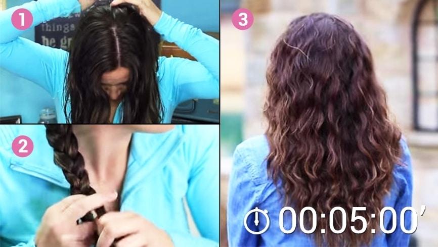 Comment réaliser des cheveux bouclés naturellement!