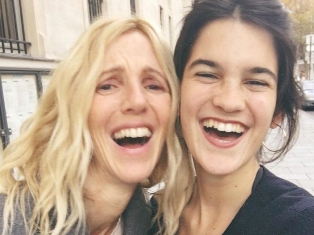 Sandrine Kiberlain : elle partage une photo d'elle avec sa fille Suzanne !
